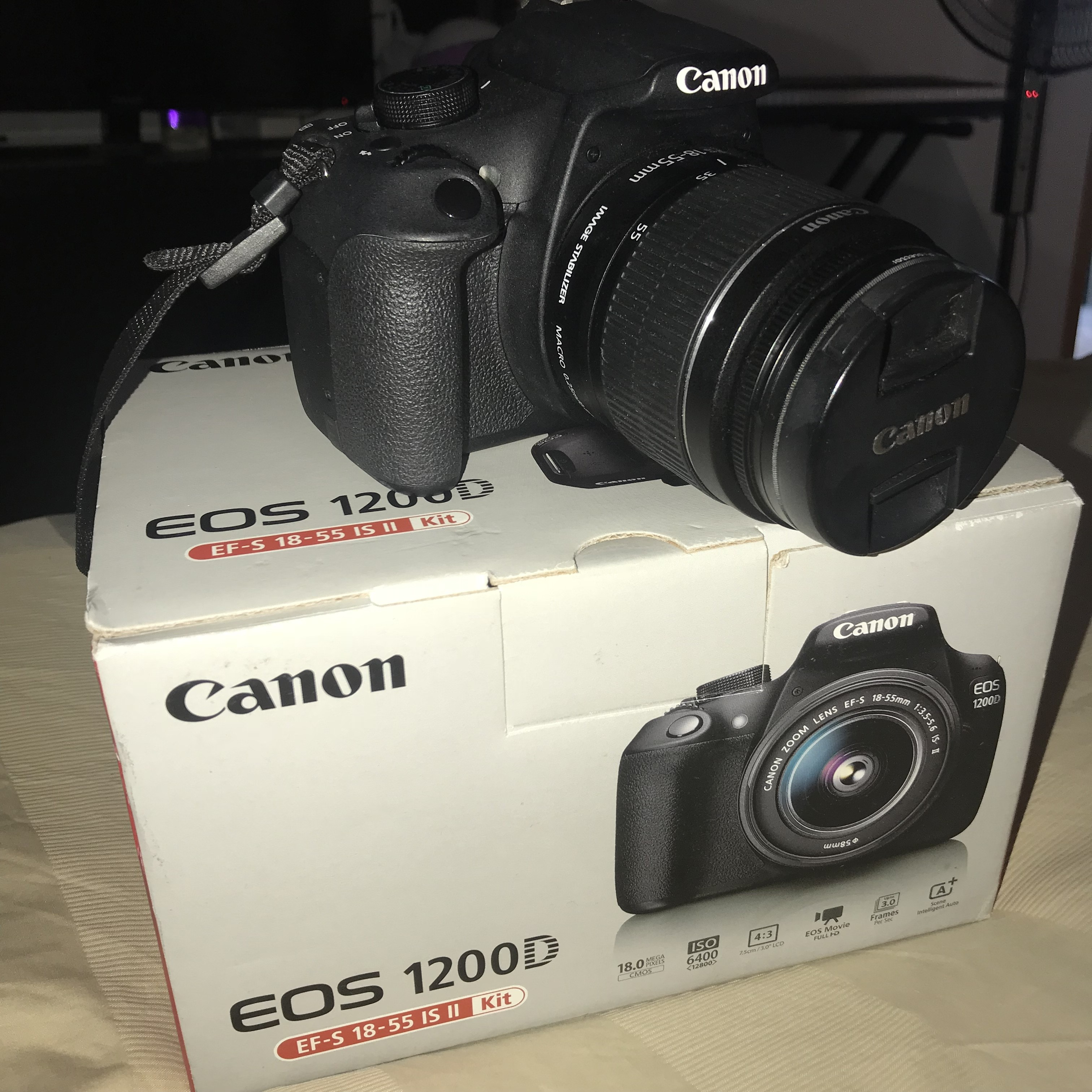 2nd hand Canon-EOS 1200D DSLR on sale