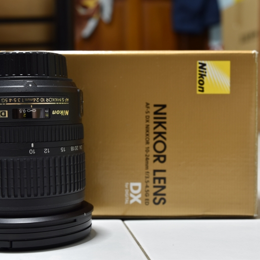 Nikon 10-24mm f3-5-4.5G ED AF-S DX Nikkor