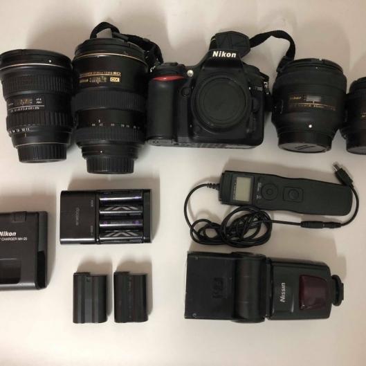Nikon D7100 + Nikon 17-55 F2.8 + Nikon 85mm F1.8G + Nikon 35mm F1.8G + Tokina 11-16mm f/2.8