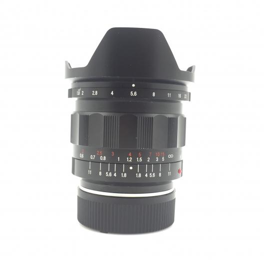 Voigtlander 21mm f1.8 Ultron