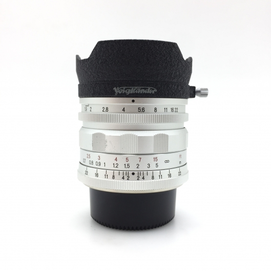 Voigtlander 28mm f1.9 Ultron Aspherical LTM
