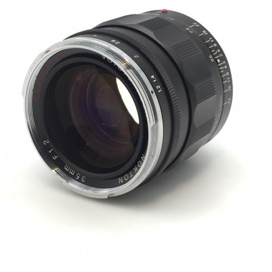 Voigtlander 35mm f1.2 Nokton Aspherical