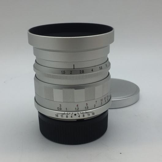 Voigtlander 50mm f1.5 Nokton