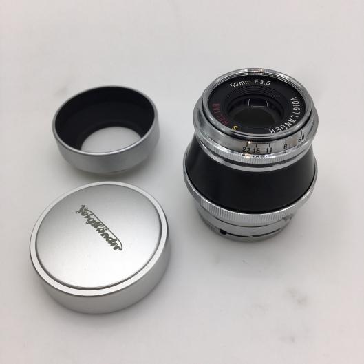Voigtlander 50mm f3.5 Heliar