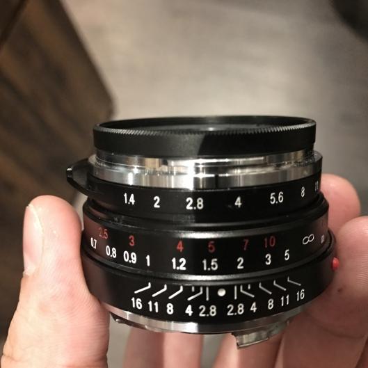 Voigtlander 35mm f1.4 Nokton Classic